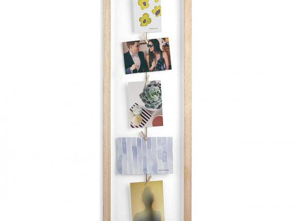 Umbra Clothesline Flip Display Frame Natural