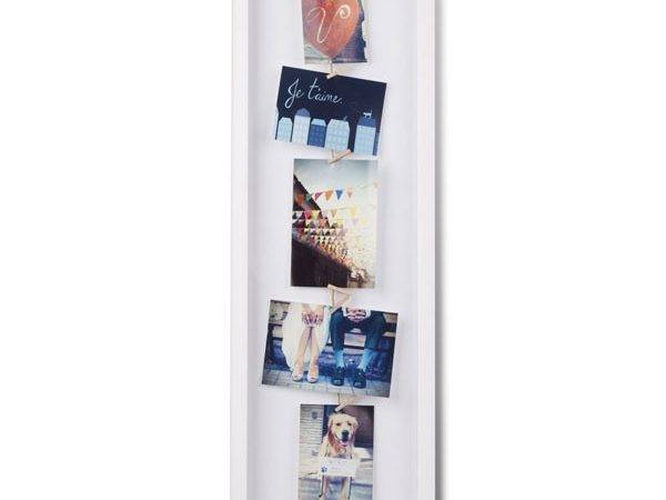 Umbra Clothesline Flip Display White Modern