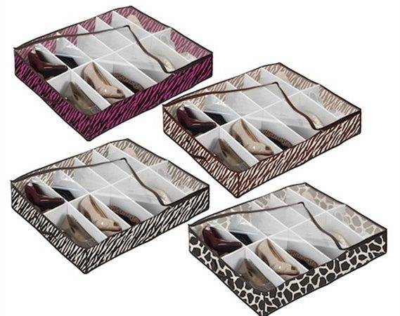 Under Bed Shoe Storage Animal Prints Available Keep