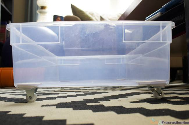 Under Bed Storage Diy Plastic Underbed Drawers Pins