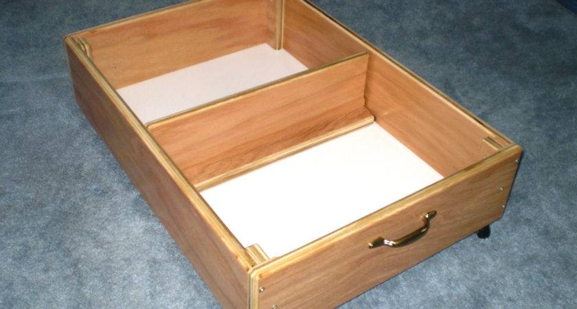 Under Bed Storage Inch Rolling Drawer Cover