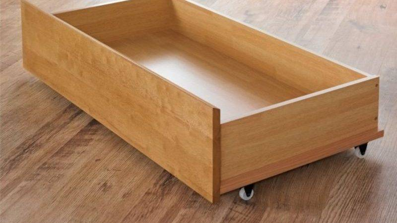 Underbed Drawers Wheels New Home Interior Design