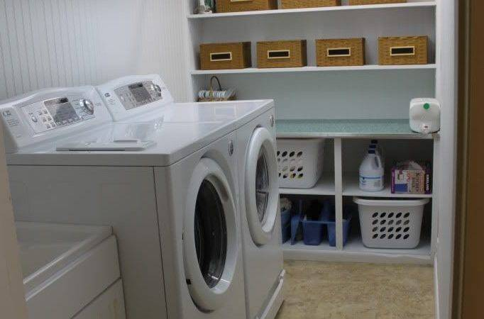 Unfinished Basement Laundry Room Ideas October