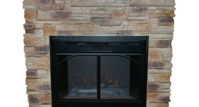 Uniflame Indoor Electric Fireplace Stacked