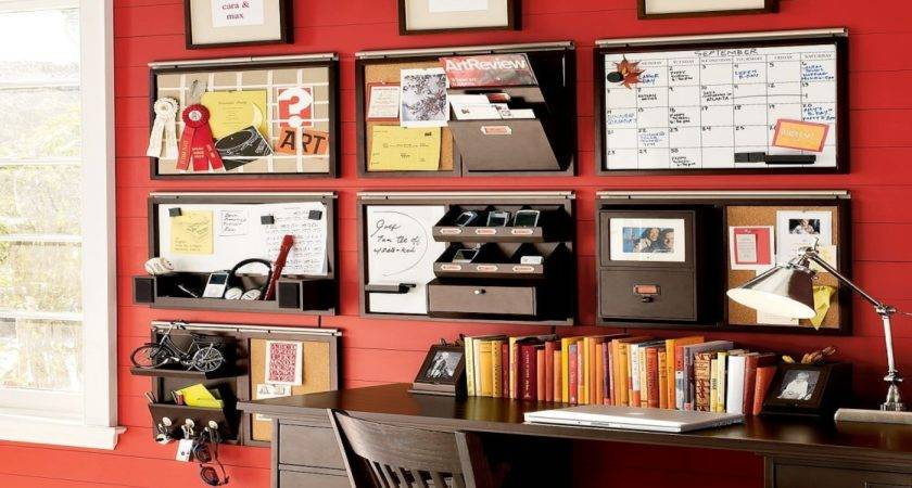 Unique Office Decorations Wall Organizer System