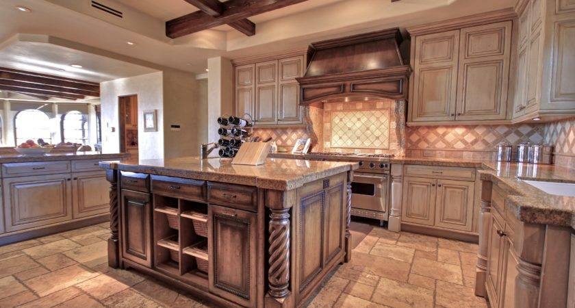 Uniquely Appealing Distressed Kitchen Cabinets Ideas