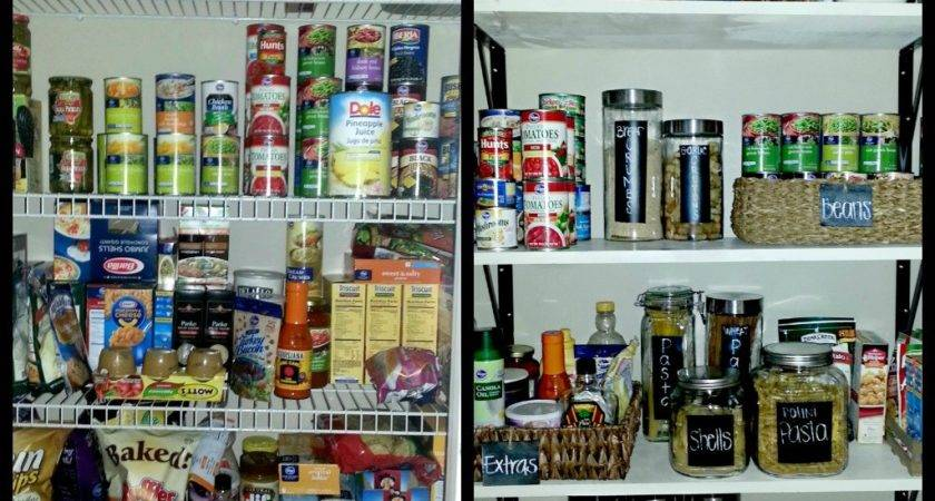 Unmarried Life Pantry Makeover Done