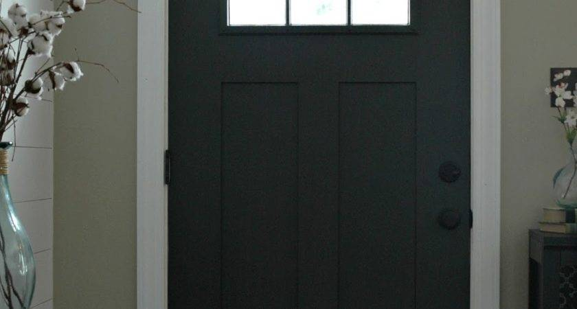 Updating Entryway Sherwin Williams Iron Ore