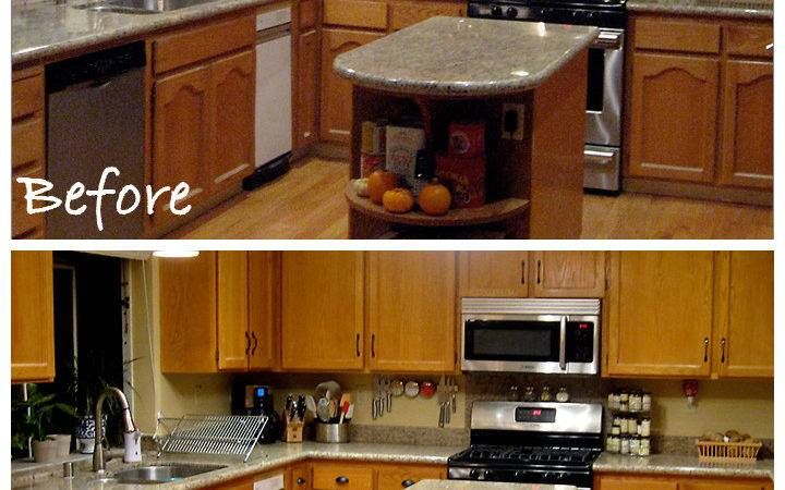 Updating Oak Cabinets Home Design Decor Reviews