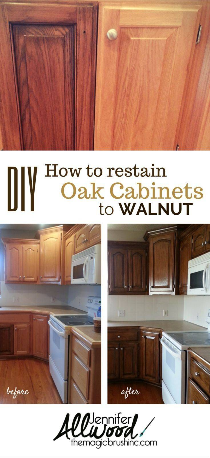 Image of: Updating Oak Kitchen Cabinets Without Painting Also Best Gabe Jenny Homes
