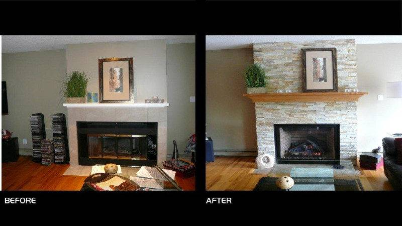 Updating Your Fireplace Gord Turner Renovations