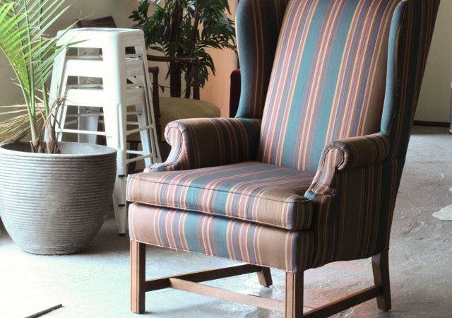 Upholster Wingback Chair Modhomeec