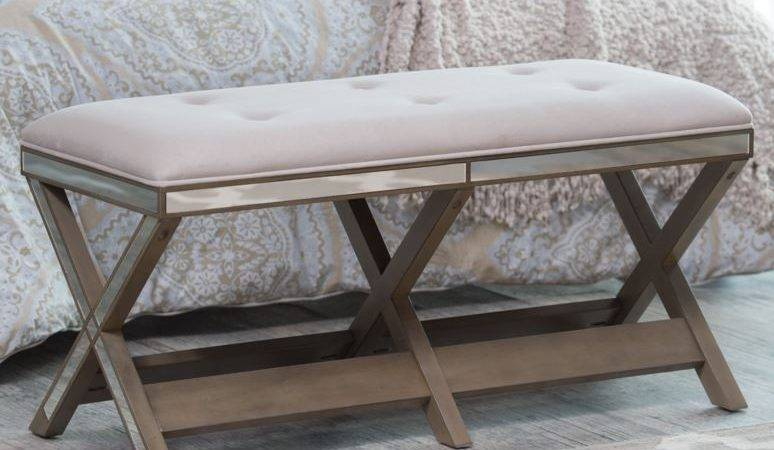 Upholstered Bench Entryway Furniture Seat Hallway End