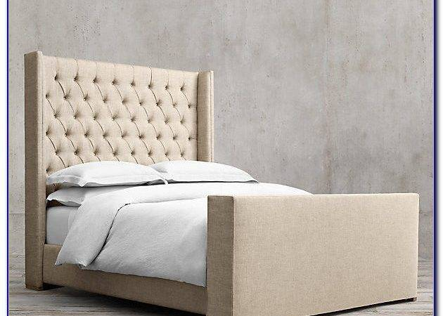 Upholstered Headboard Footboard Diy Home