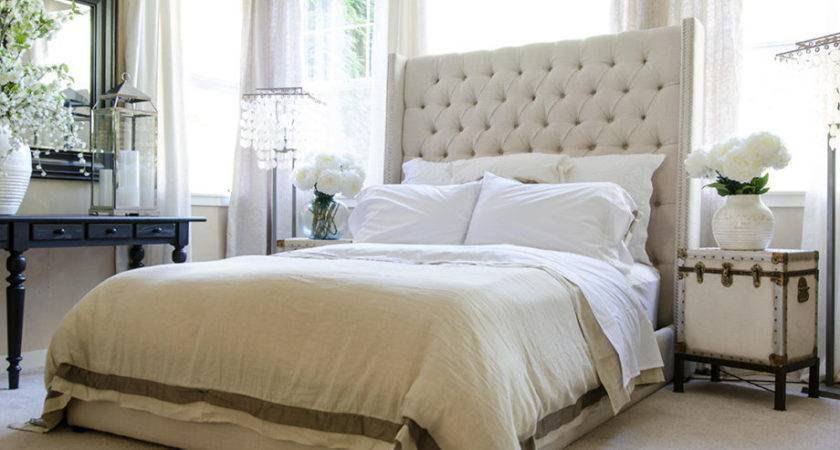 Upholstered Headboard King Color Also Tall Headboards