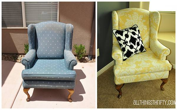 Upholstering Wing Back Chair Upholstery Tips All