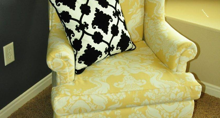 Upholstering Wing Back Chair Upholstery Tips