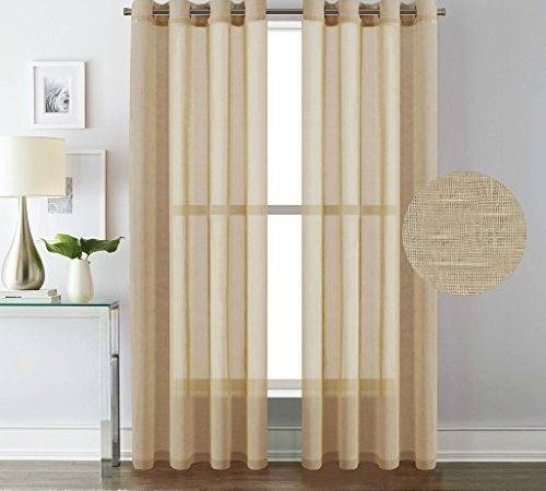 Usa Versailtex Extra Long Curtains Window