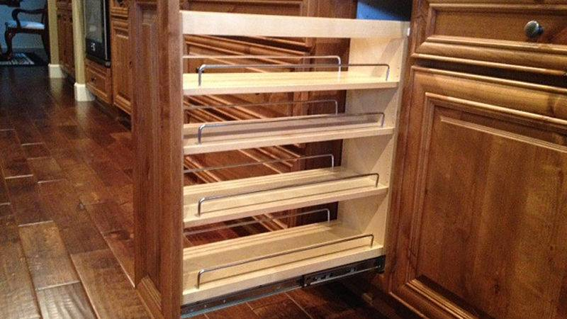 Vancouver Shelves Pull Out Cabinets