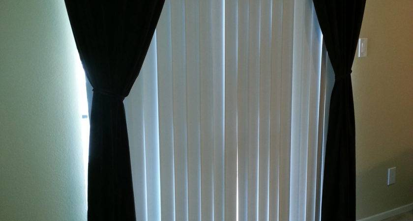 Vertical Blinds Curtains Together Curtain