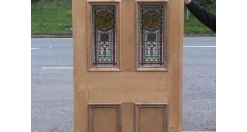 Victorian Edwardian Original Stained Glass Panel