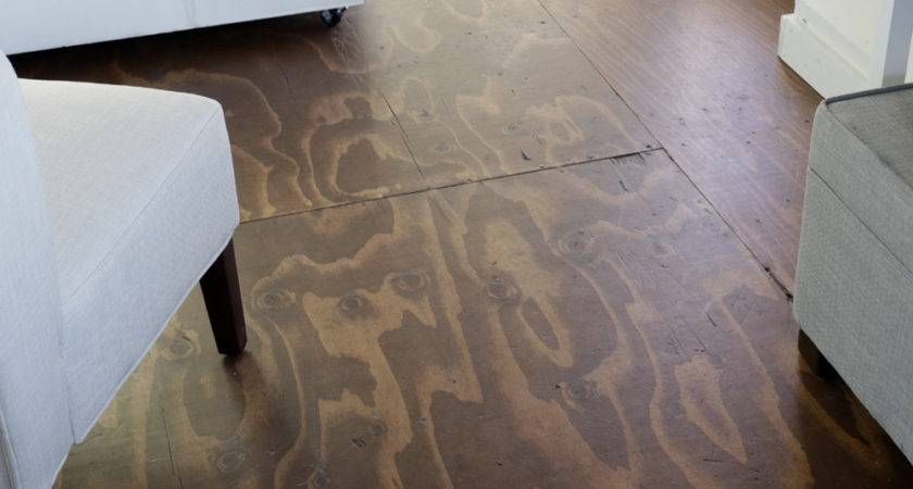 Video Stain Plywood Floor Subfloor Flooring Tiny