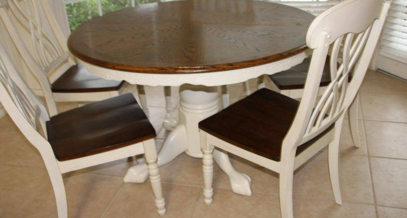 Village House Kitchen Table Redo Linky Party