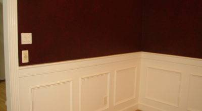 Wainscoting Finition