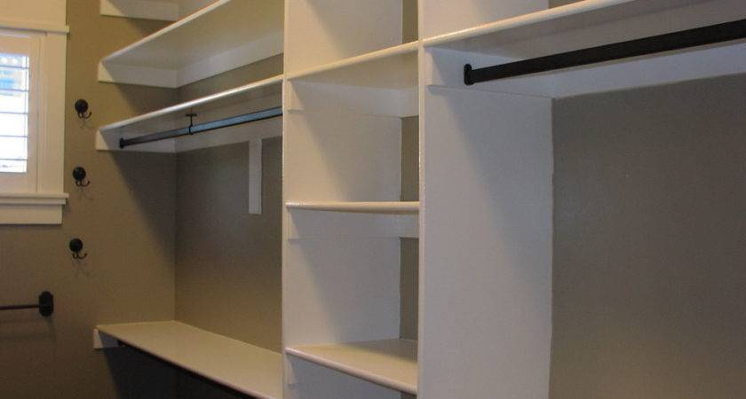 Walk Closet Construction Plans Home Cor