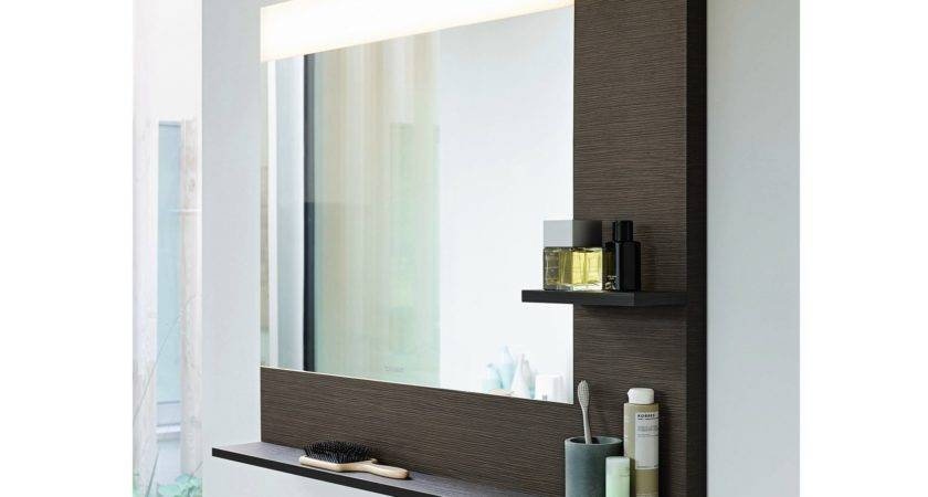 Wall Bathroom Mirror Lights Shelf Decofurnish