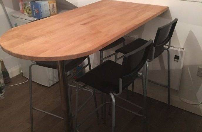 Wall Mounted Breakfast Counter Bar Table