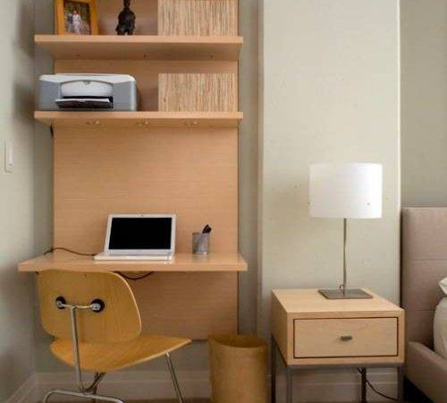 Wall Mounted Desk Shelves Interior Design