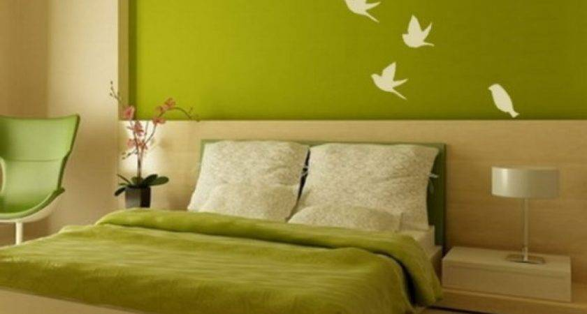 Wall Paint Design Ideas Bedroom Home Concept
