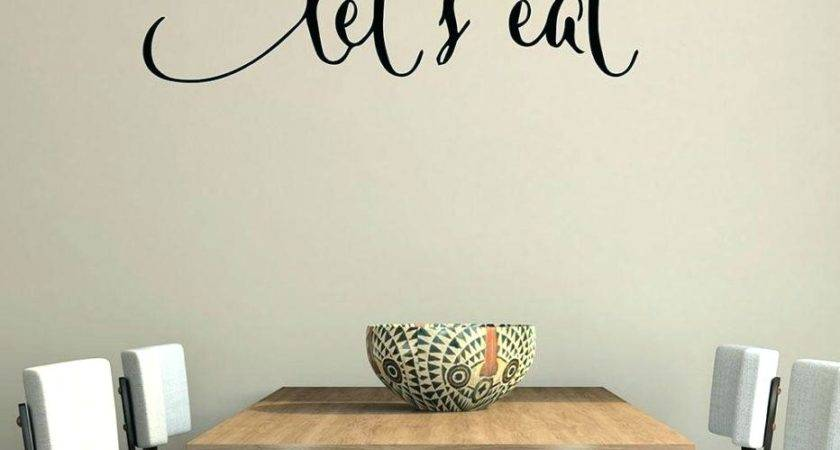 Wall Sticker Quotes Decals Dining Room Youtube