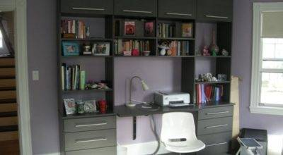 Wall Unit Desk Smart Storage Solution Home