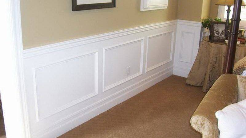 Walls Simple Ways Install Faux Wainscoting