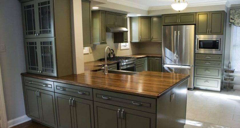 Walnut Wrap Around Countertop Maryland Wood Countertops