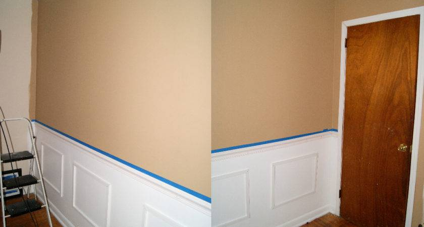 Wanna Create Faux Wainscoting Part