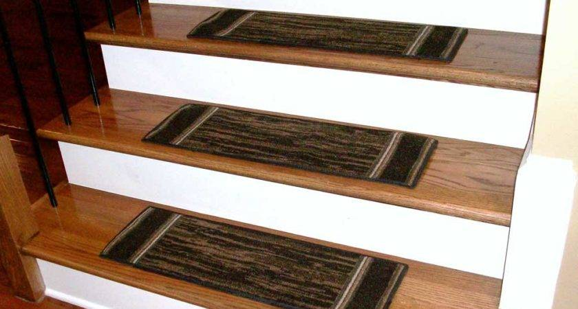 Washable Carpet Stair Treads Boxer Chocolate