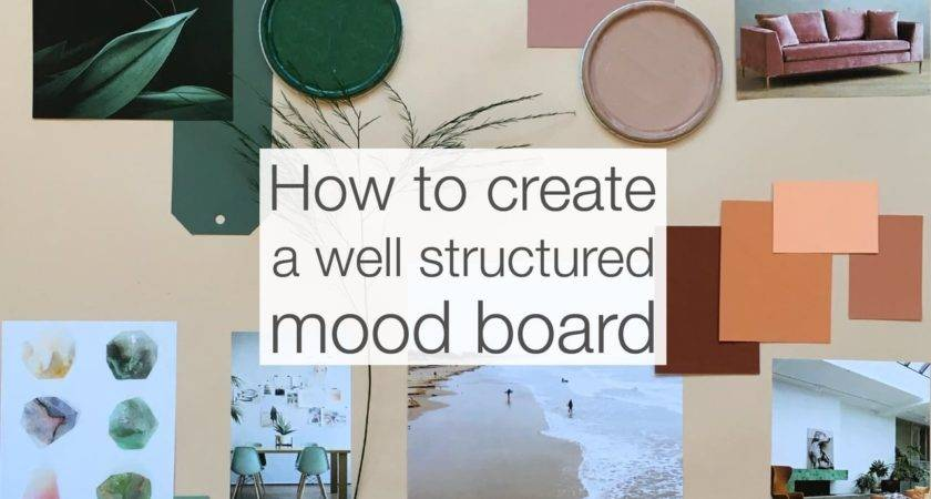 Watch Create Well Structured Mood Board Video