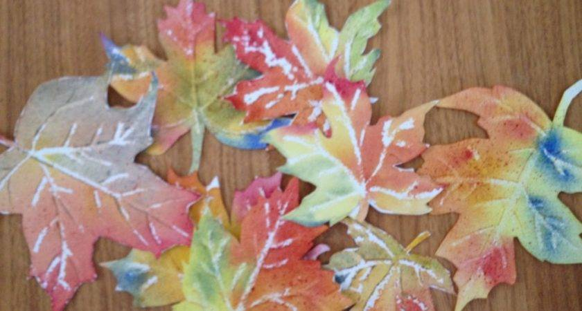 Watercolor Fall Leaves Best Crafts Activities