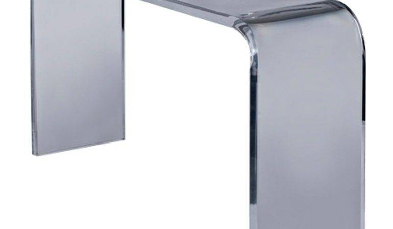 Waterfall Console Table Plexi Craft Martin