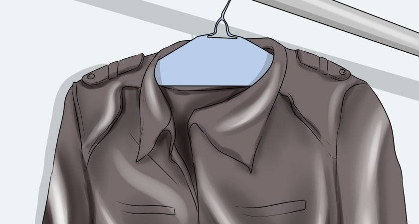 Ways Clean Leather Jacket Wikihow