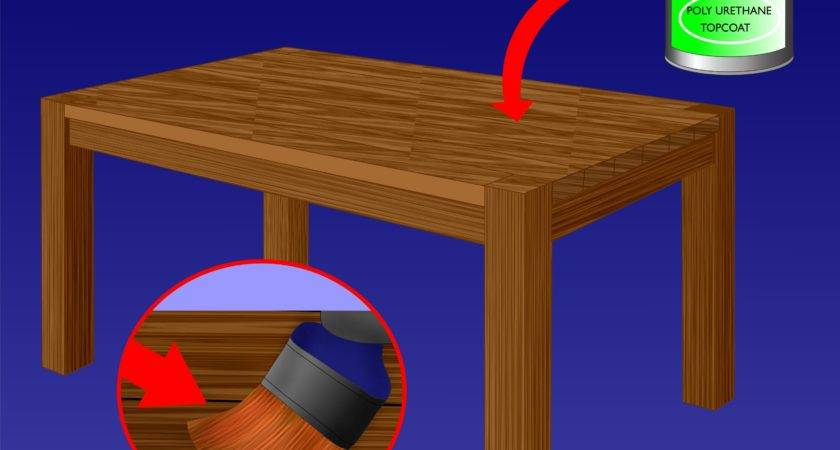 Ways Refinish Wood Table Wikihow