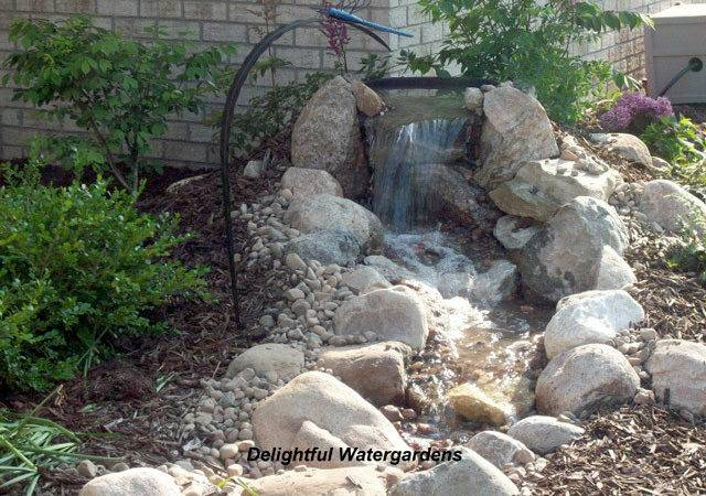 Weekend Diy Backyard Water Feature Willard May