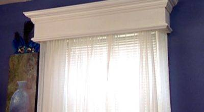 Weekend Projects Construct Homemade Window Valance Hgtv