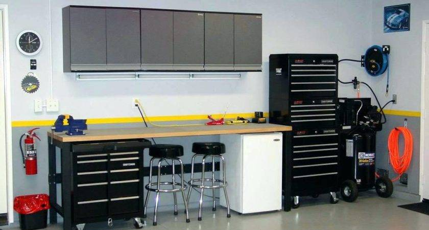 Weldedgarage Workbench Storage Ideas Garage Tool Bench