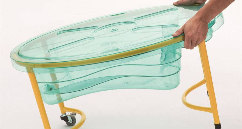 Weplay Clear Sand Water Table Infant Portable