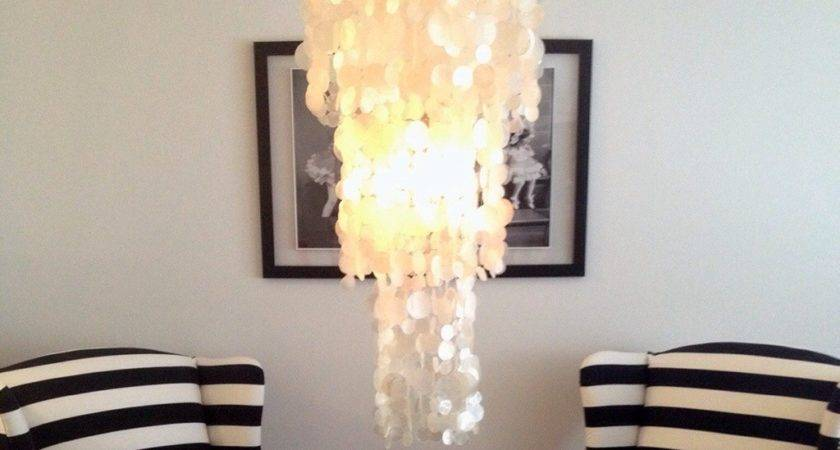 West Elm Capiz Chandelier Glamorous Project