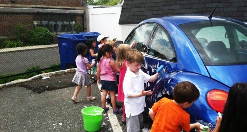 Westfield Area Prechool Children Stay Cool Car Wash